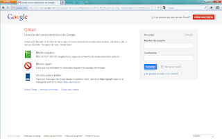 Crear cuenta Gmail