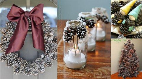 Gk kreativ 40 kreative ideen und anleitungen zum adventsbasteln mit tannenzapfen - Adventsbasteln ideen ...