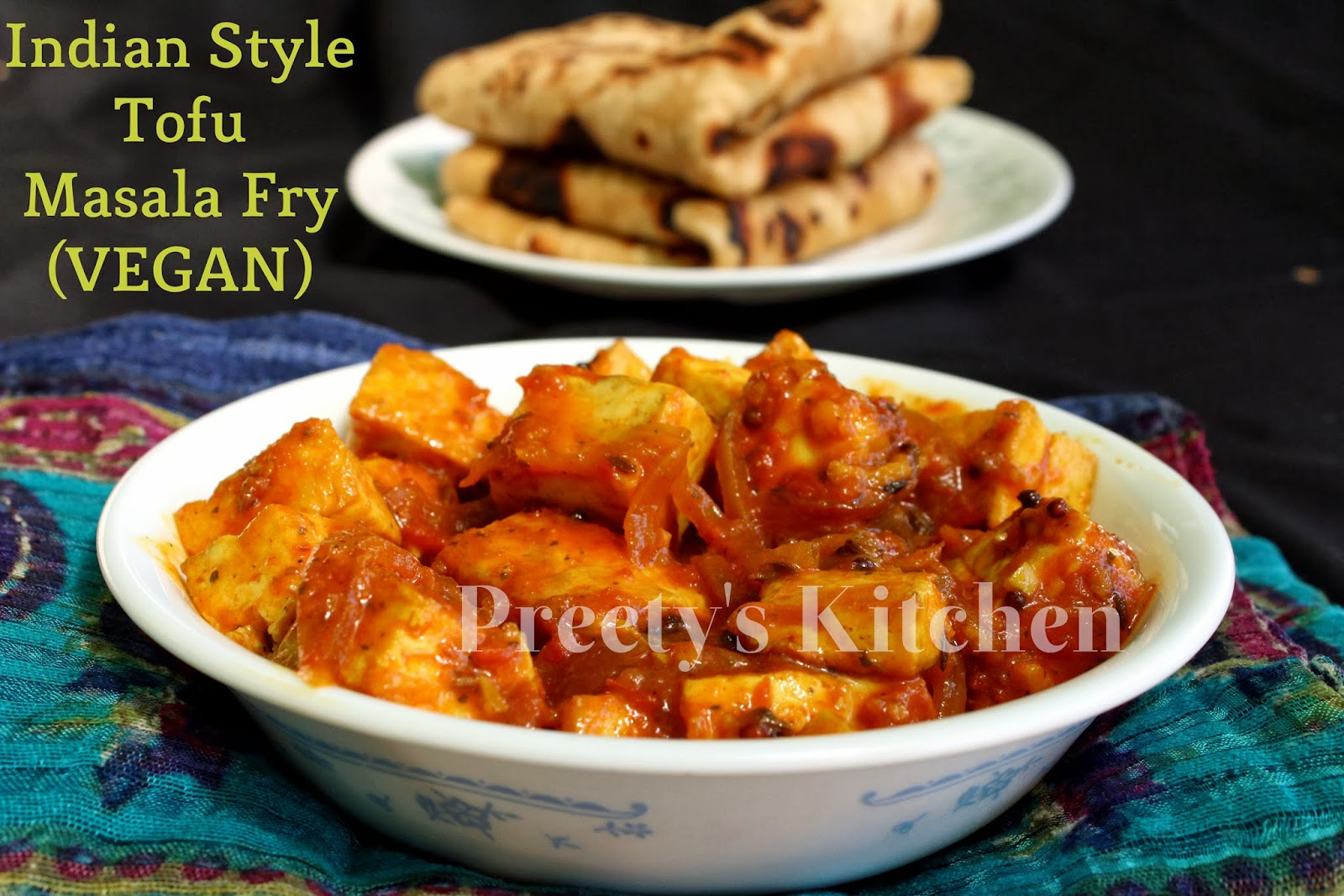 Preetys kitchen indian style tofu masala fry vegan recipe step indian style tofu masala fry vegan recipe step by step pictures forumfinder Gallery