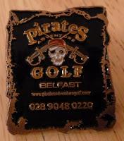 Pirates Adventure Golf Belfast Pin Badge #2