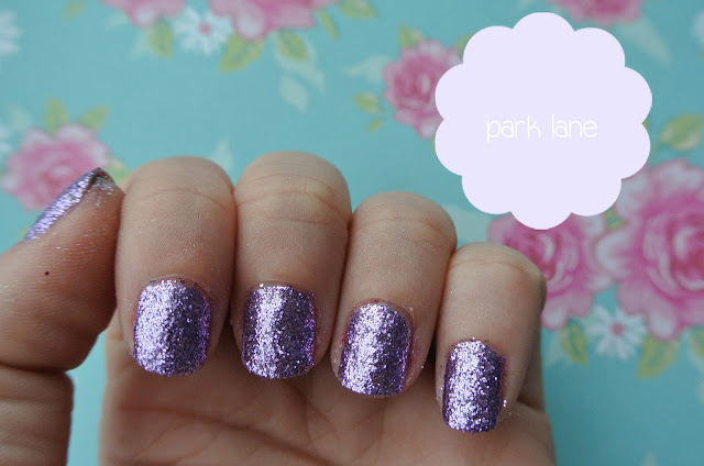 nails inc park lane swatch