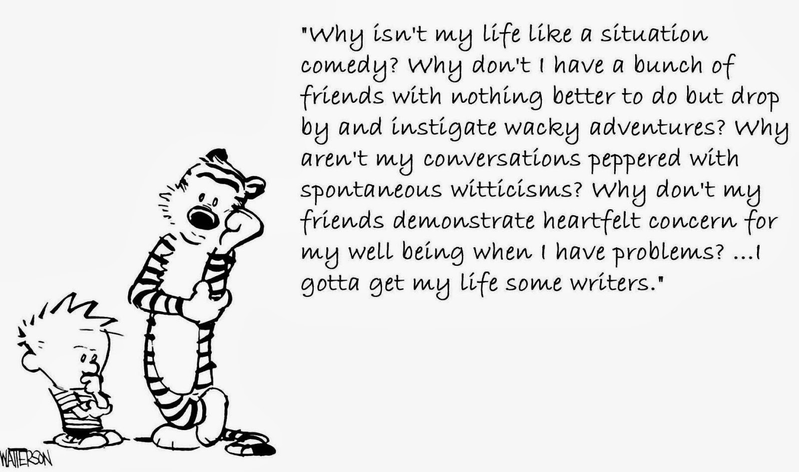 life laughs from calvin and hobbes
