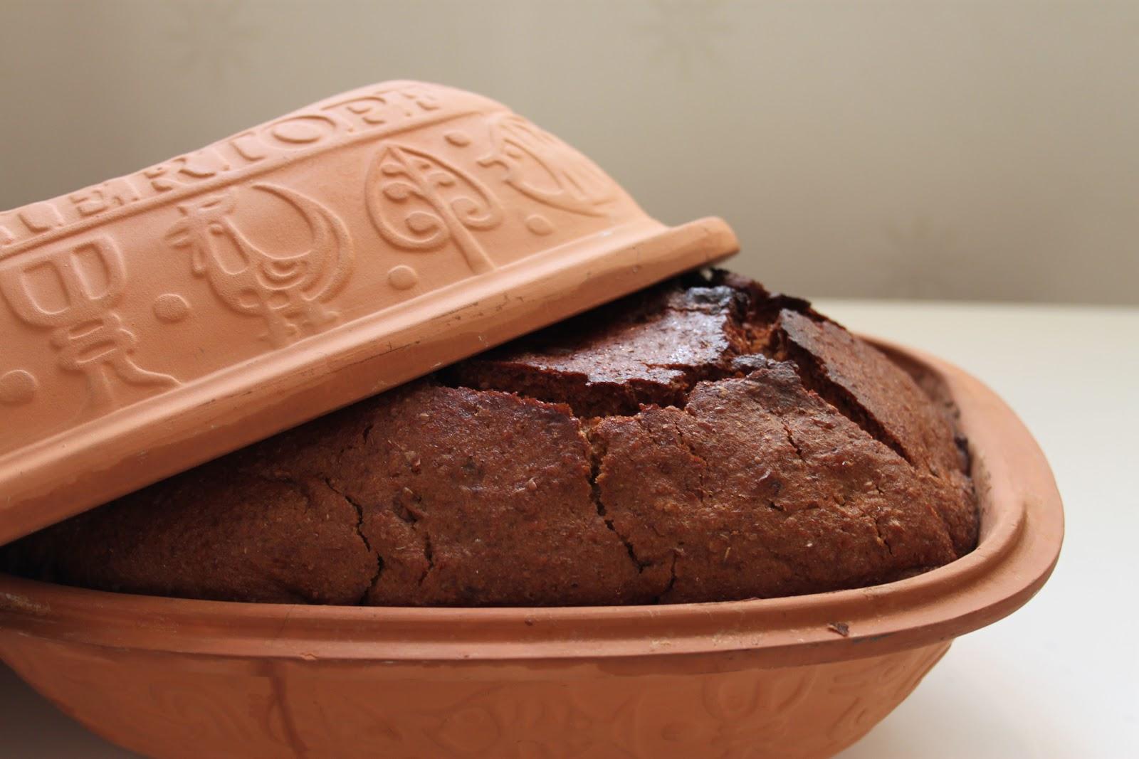 baka bröd i lergryta recept