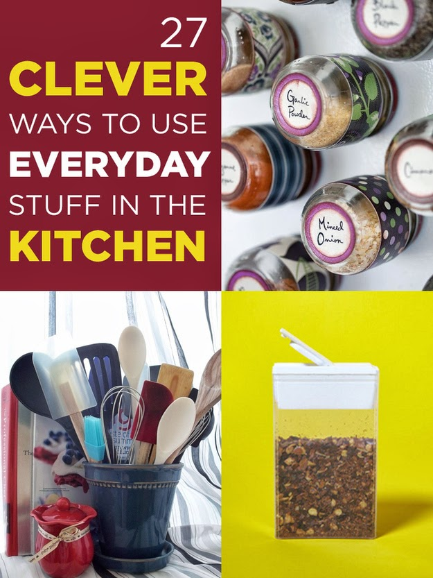 27 Clever Ways To Use Everyday Stuff In The Kitchen