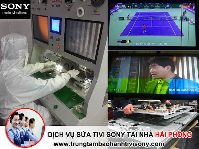 Dịch vụ sửa tivi Sony tại nhà Hải Phòng