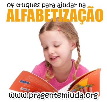 dicas para alfabetizar crianças