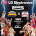 Korean Basketball Team LG Sakers vs. Barangay Ginebra in Asian Basketball Showdown on September 9, 2014