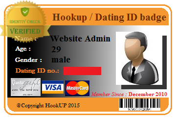 Hookup id card