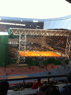 Final de la Copa Davis en el Estadio Olímpico de Sevilla