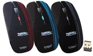 Zebronics 2.4Ghz Wireless Optical Mouse (totem 2) worth Rs.499 for Rs.334 Only @ Rediff with1 Yr Company Warranty