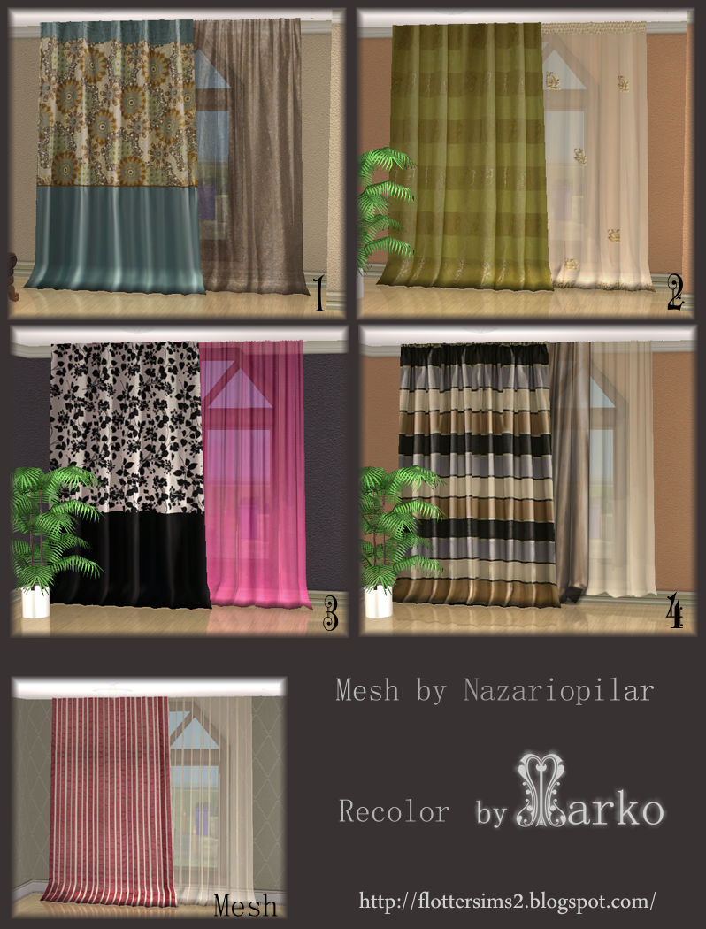 flotteur curtains for large windows