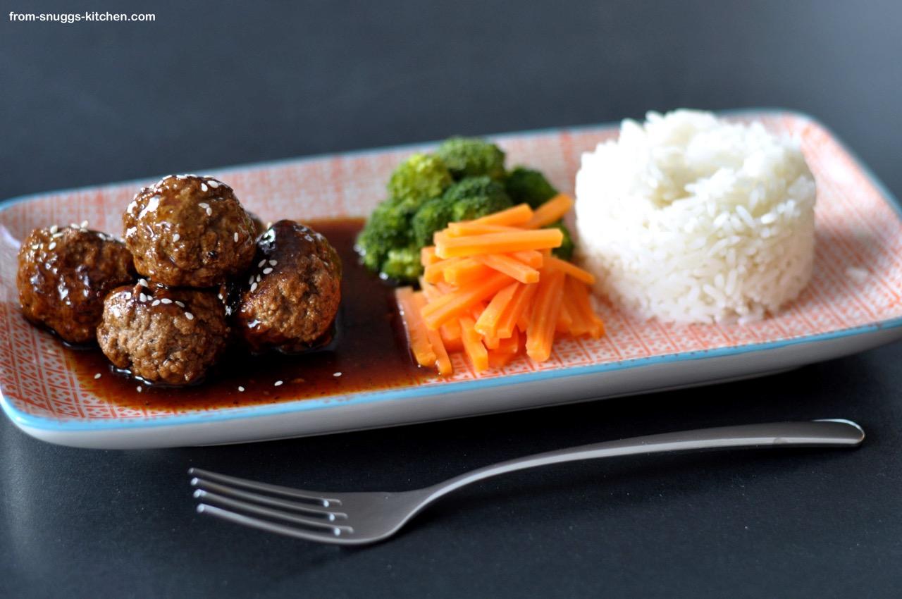 Asia Meatballs