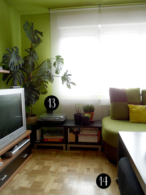 Lalole blog operaci n makeover - Pintar un salon ...