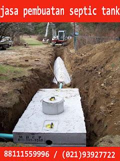 jasa pembuatan septic tank di cibubur