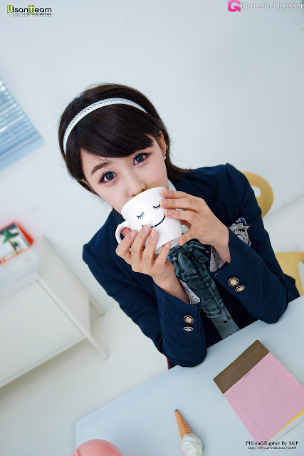 5 Kim Ji Min - Cute School girl-very cute asian girl-girlcute4u.blogspot.com