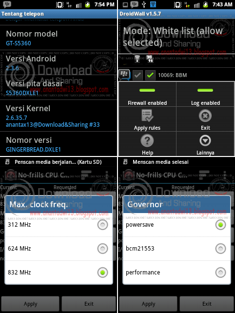 Anantax13 Kernel v1.0.0 Galaxy Young GT-S5360