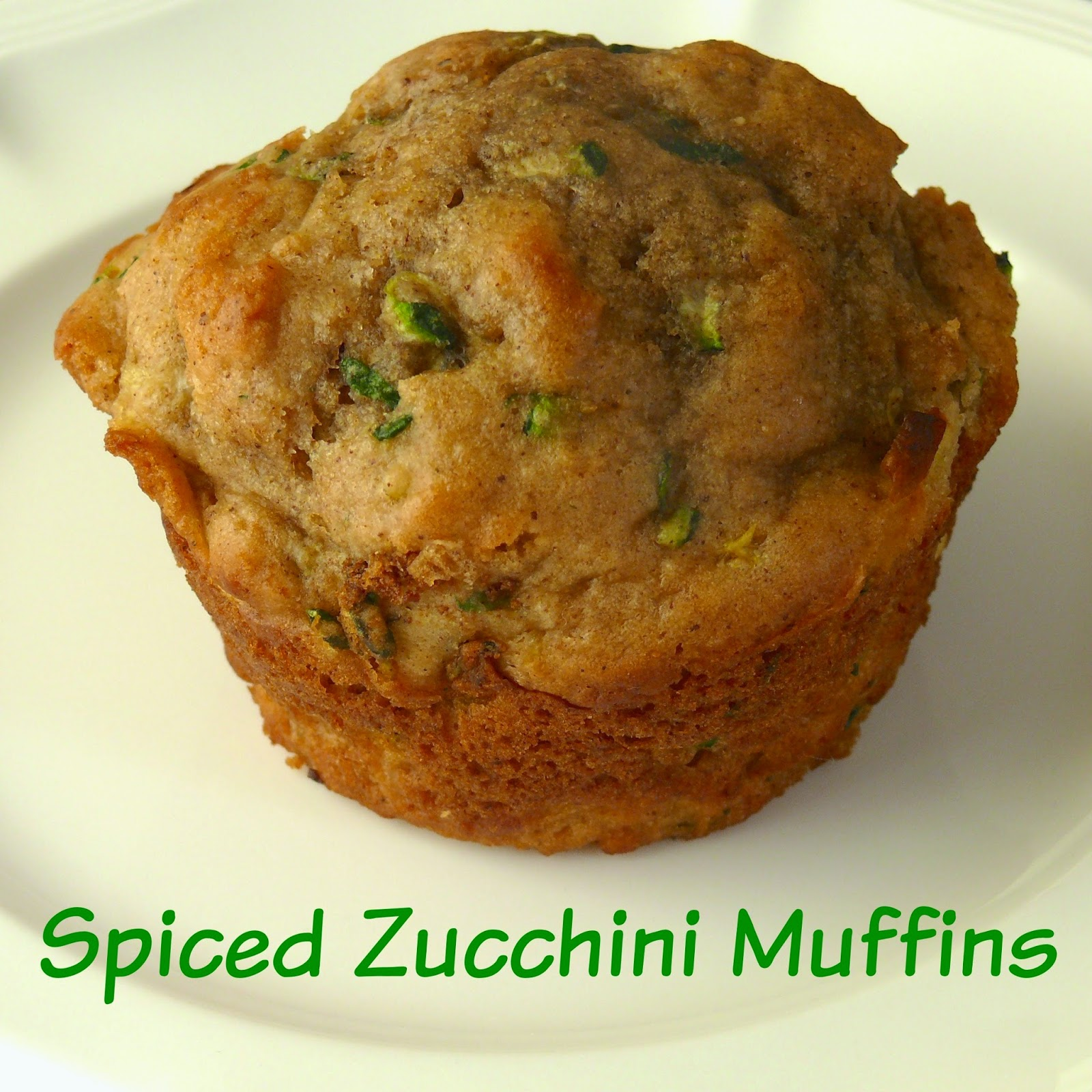 Imperfect & Fabulous: Spiced Zucchini Muffins