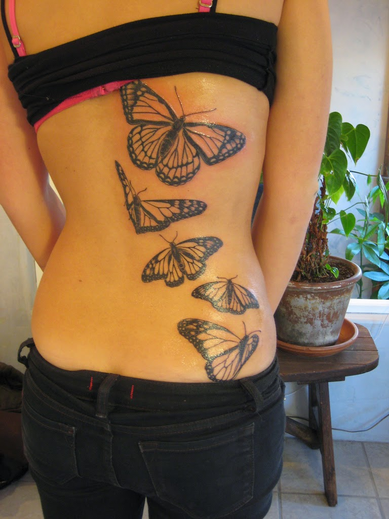 Butterflies Tattoos Pictures