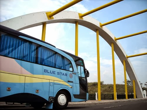 Bus Pariwisata Blue Star Semarang