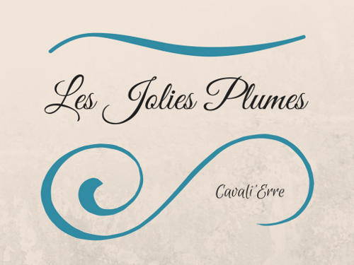 Logo Les Jolies Plumes by Cavali'Erre