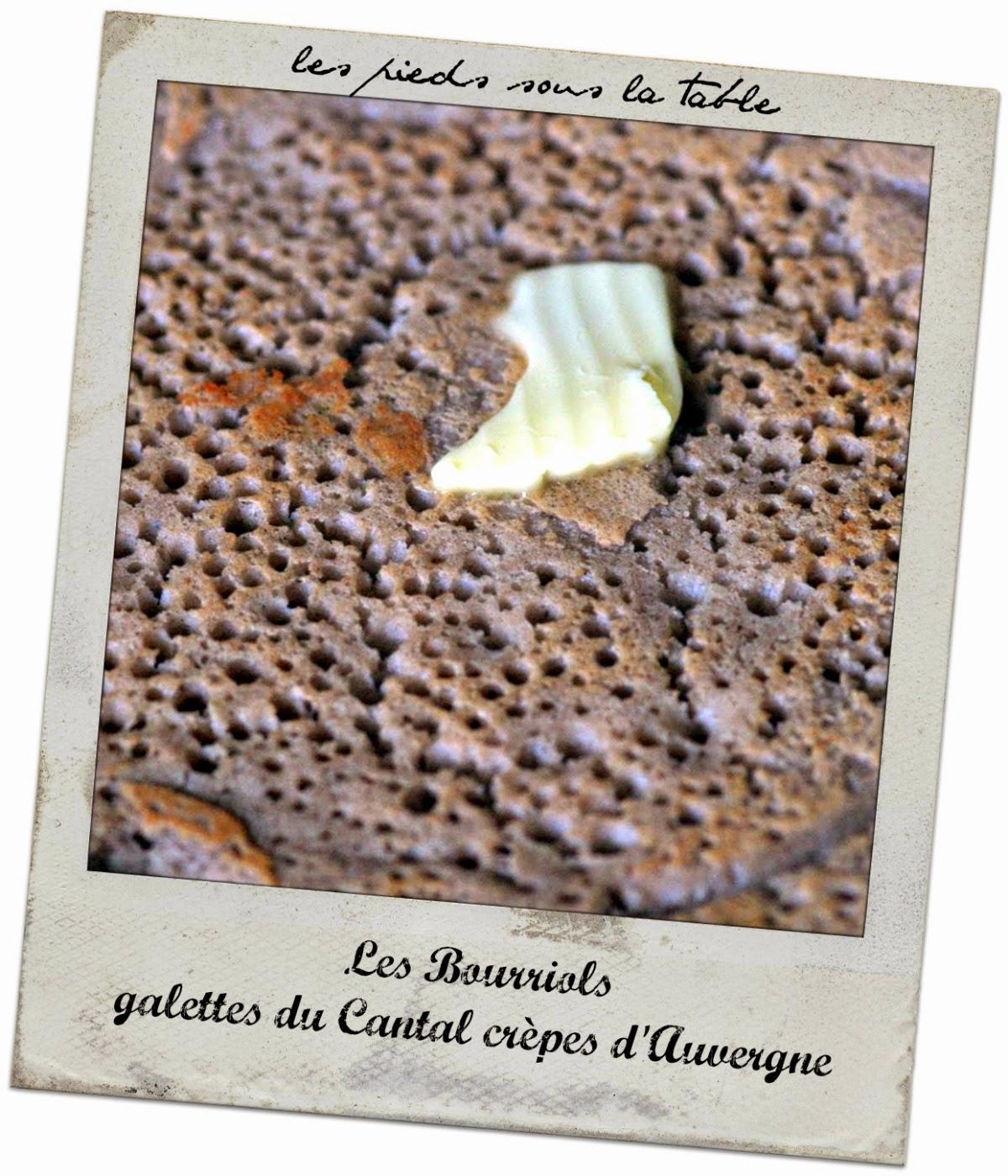 Bourriols ou les crêpes d'Auvergne