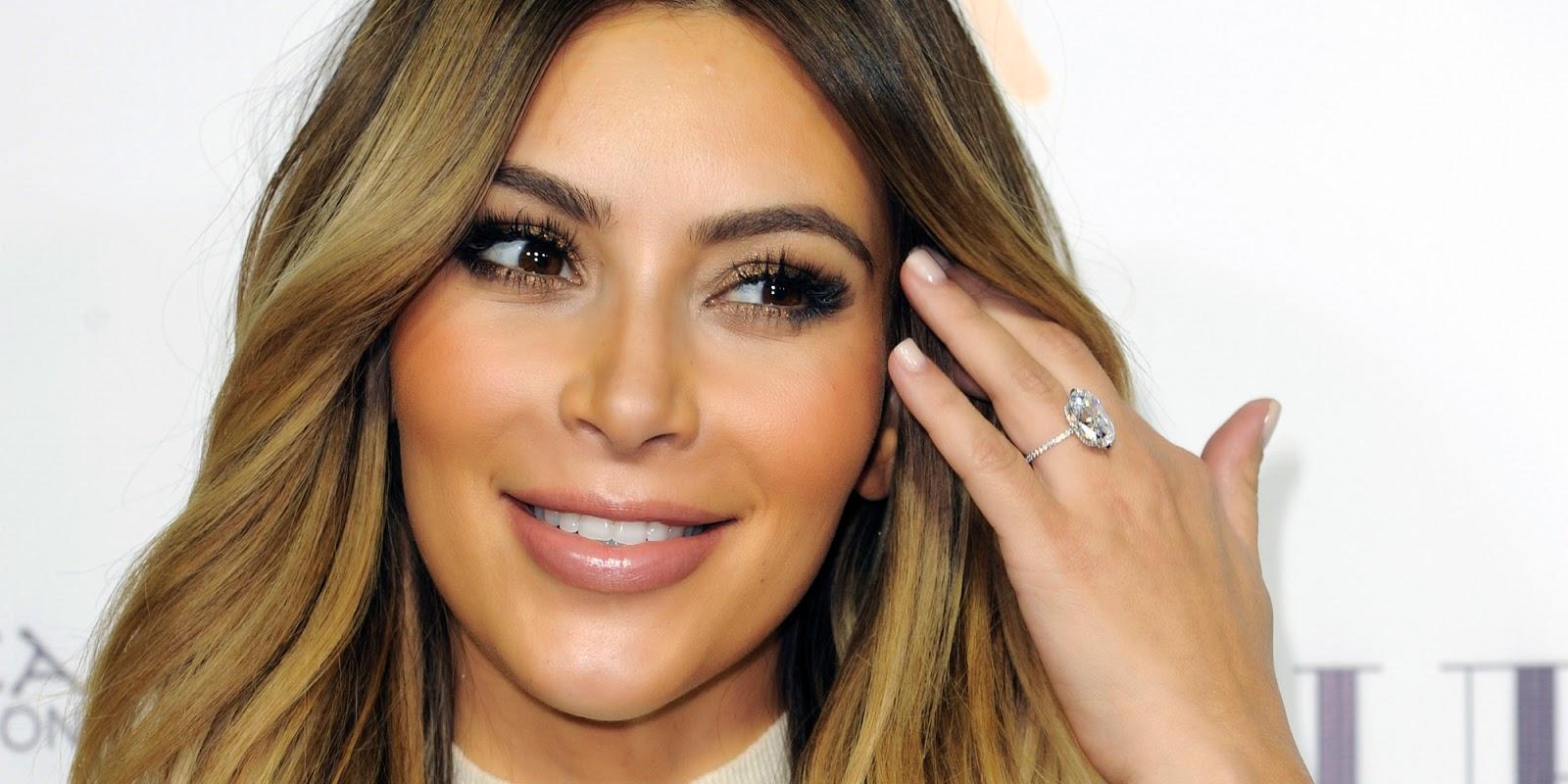 Estilo, famosa, look, maquiagem, Kim Kardashian