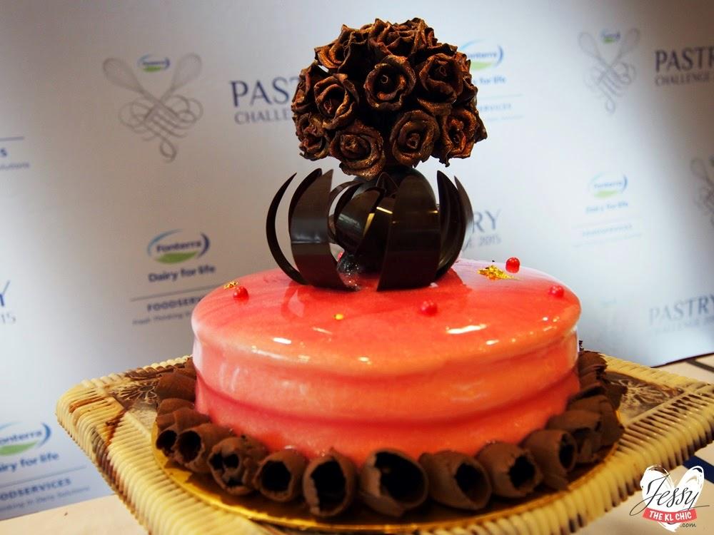 Food/Event: Fonterra Pastry Challenge 2015 Finale