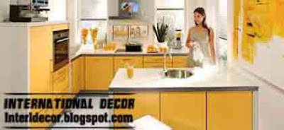 modern kitchen designs in yellow color Yellow Kitchen Designs 2013   Yellow Kitchen photos 2013