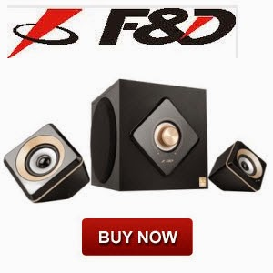 F&D W330BT 2.1 Channel Bluetooth Speakers @ Rs.2590 || Flipkart