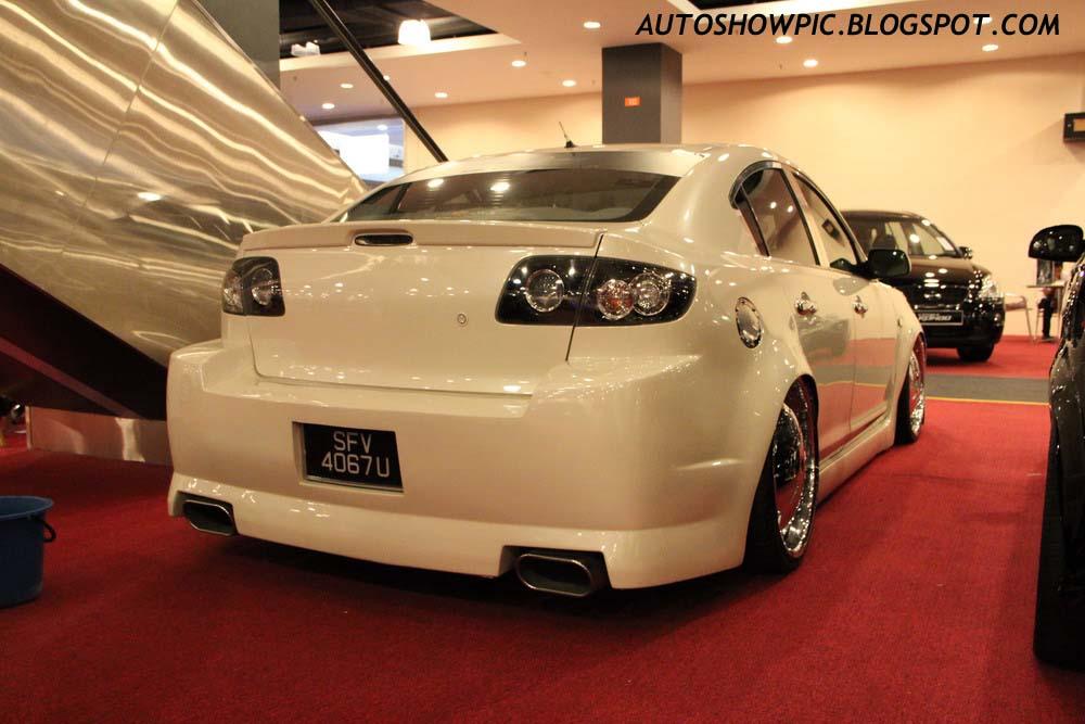 Customized VIP style Mazda 3