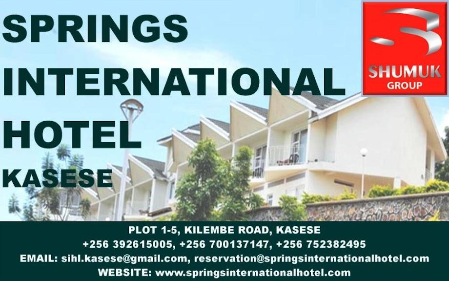 Springs International Hotel Kasese
