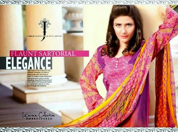 Karam Lawn Collection 2014