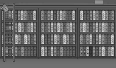 Grayscale Escape Series: The Library