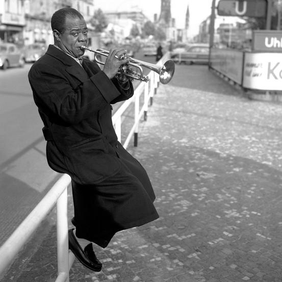 La vida adulta de Louis Armstrong