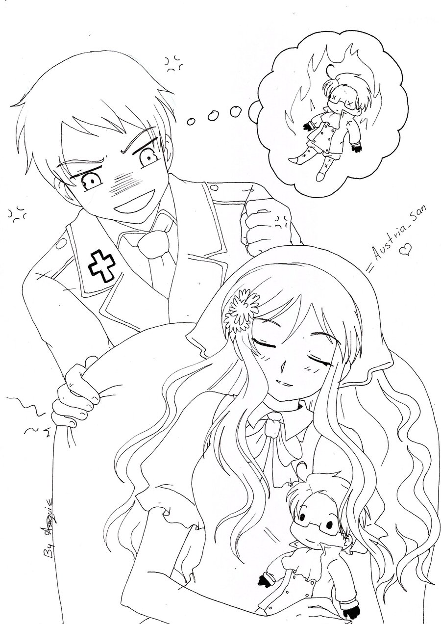 Fantástico Lindo Gato De Anime Para Colorear Ilustración - Dibujos ...