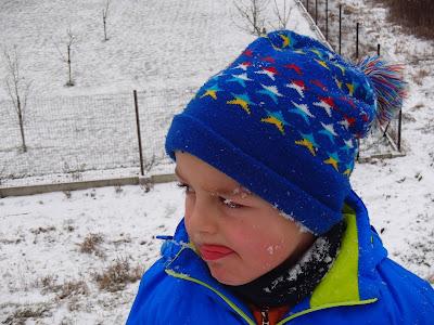 Tyniec, opactwo tynieckie, Wisła, Skawinka, zamarznięta Wisła, wały przeciwpowodziowe, pierwszy śnieg 2016