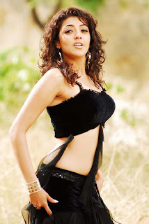 Kajal Agarwal Spicy Black Gown.jpg
