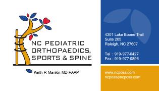 NC Pediatric Orthopaedics