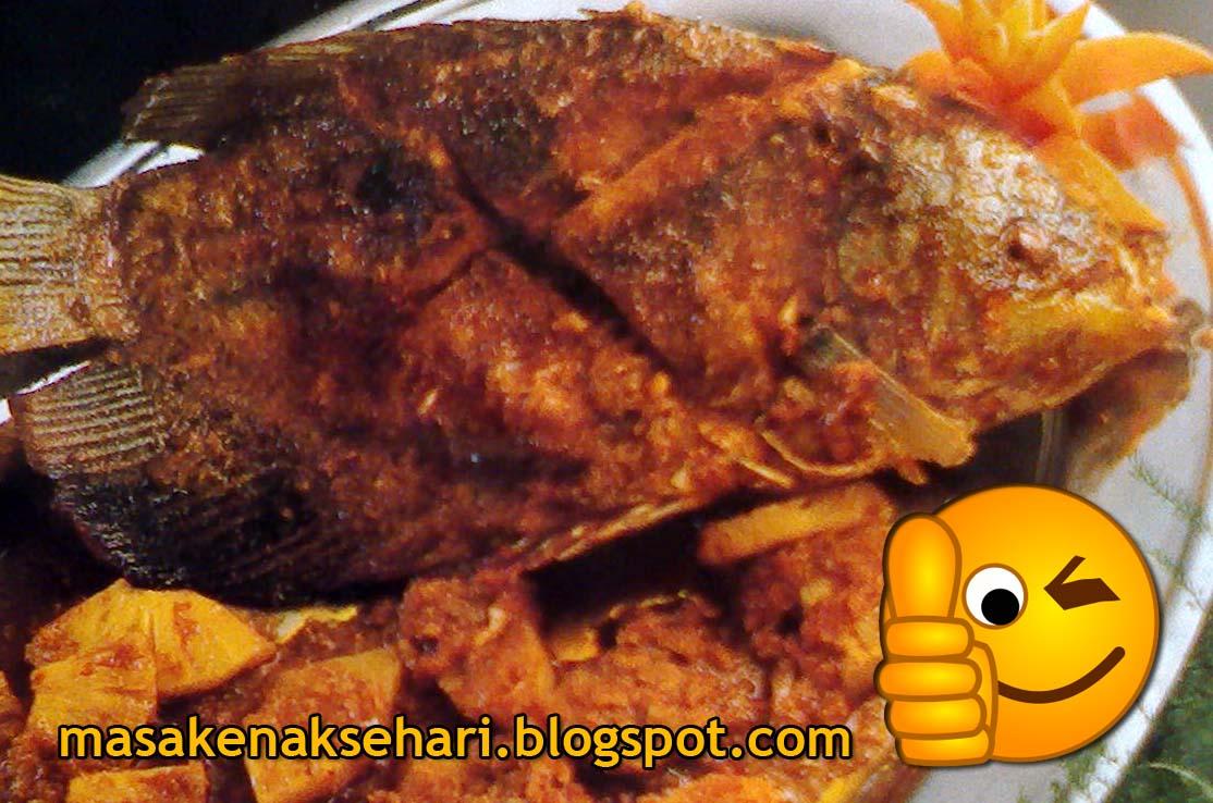 Ikan mujair goreng
