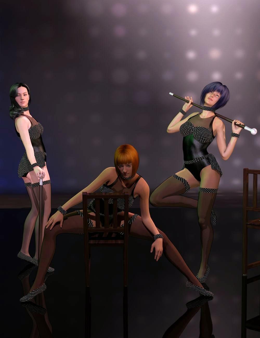 Cabaret pour Genesis 2 Femme