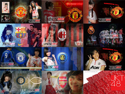 Download Start Screen JKT48 PES 2013 by Mah Mude