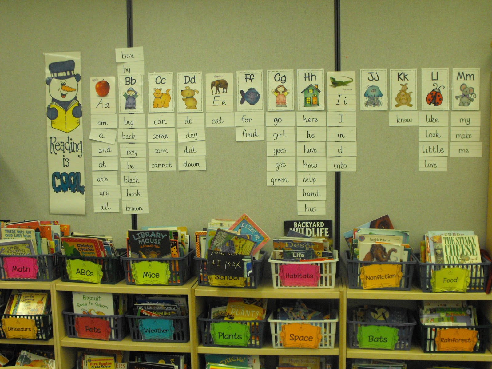 First Grade Classroom Word Wall http://firstgradealacarte.blogspot.com/2011/02/my-favorite-places-in-my-classroom.html