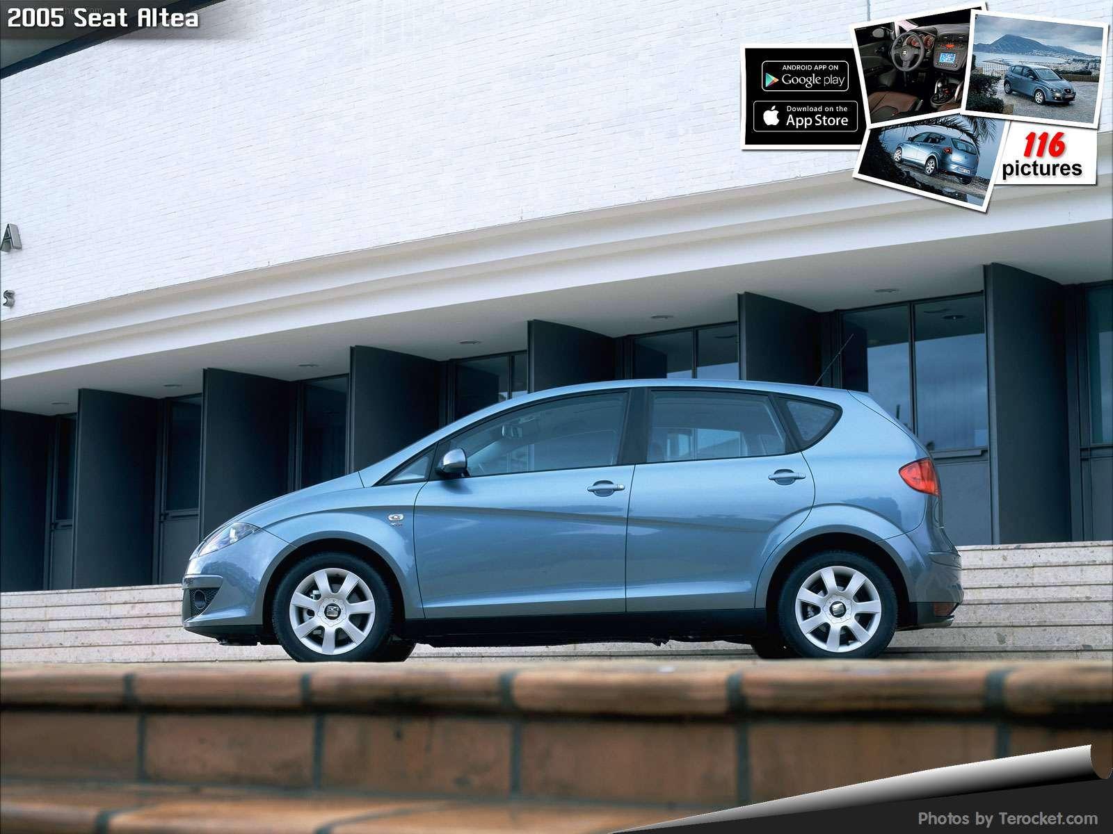 Hình ảnh xe ô tô Seat Altea 2005 & nội ngoại thất