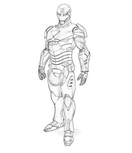 Image Result For Coloring Page Hulkbuster