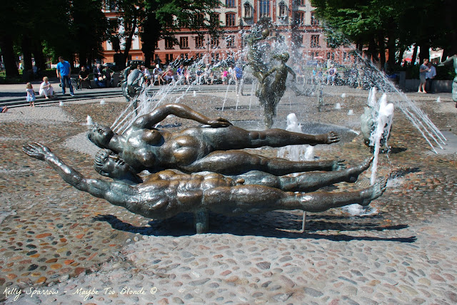 Fountain Of Joy Rostock Germany