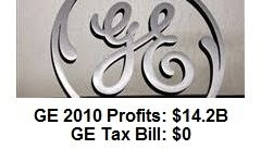 general electric paid no federal taxes in 2010
