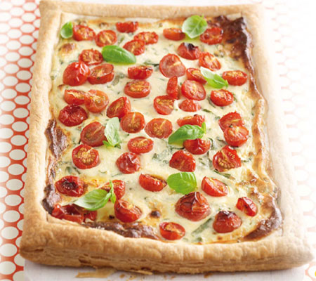and basil tart basil tomato tart brie basil and tomato tart this ...