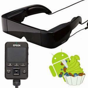 Kaca Mata Pintar Menggunakan Sistem Operasi Android Pertama di Dunia