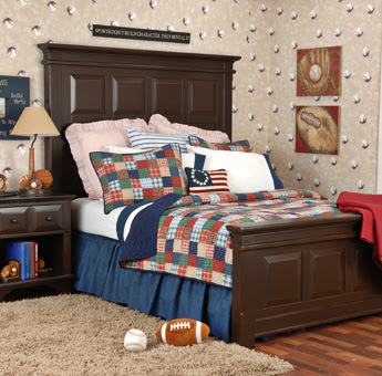 Baseball Theme Boys Bedroom Ideas