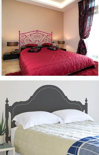 Decor me ideas low cost cabeceros con vinilos - Ideas cabeceros cama ...
